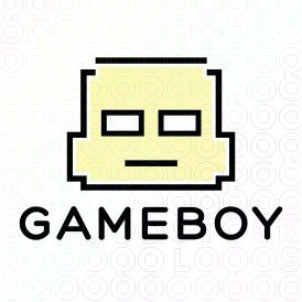 Exclusive Customizable Baby Boy Logo For Sale: Game Boy   StockLogos.com
