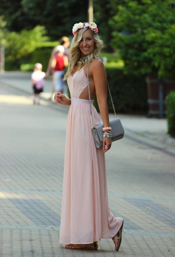 Long Prom Dress,Sexy Prom Dress,Chiffon Prom Dresses,Backless Formal