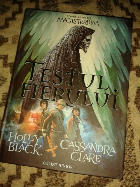 The Iron Trial by Holly Black & Cassandra Clare.
