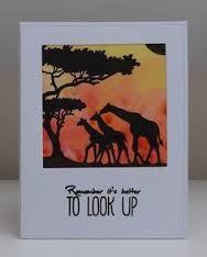 Image result for Sheena Douglass A Little Bit Sketchy A6 Stamp African Landscape in australia