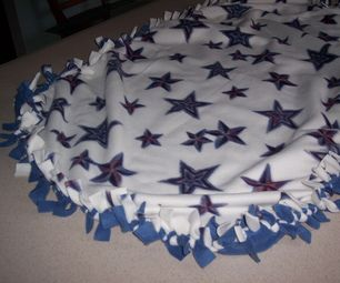How To Make A Tied Fleece Blanket Make A Tie 2 And 1 Quot