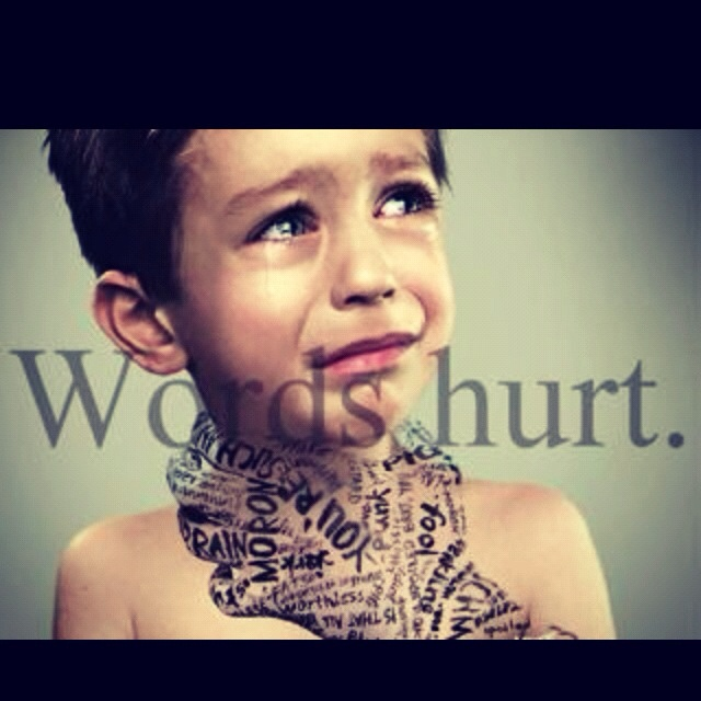 Abuse: #antibully #wordshurt #childabuse Verbal Abuse, Art