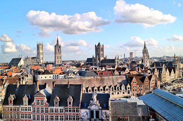 Reposting @eatsleeplovetravel: That view though 😍 here are the three spires of St Nicholas's church, the Belfry and St Bavo's Cathedral in #gent #ghent #belgium #europe #visitflanders #travel #instagood #nature #travelgram #photography #wanderlust #instatravel #photooftheday #trip #traveling #travelphotography #beautiful #picoftheday #photo #vacation #instadaily #travelblogger #explore #happy #adventure #amazing #instagram #holiday #landscape #architecture @visitflanders @visitgent