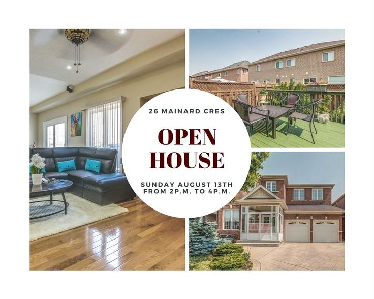 Come Join Us For Our Open House This Weekend, Sunday August 13th from 2pm to 4pm! This Beautiful Home has Everything You Could Want and More. Lots of Upgrades, Great Neighbourhood, Close to All Amenities! The Home You Have Been Waiting For! Don't Miss It!  Want more information about this home, check out our website, www.anthonyfialho.com!  #DontFretWithTheFialhoRealEsateTeam #OpenHouse #BramptonRealEstate #BramptonHomesforSale #HomesForSale #FialhoRealEstateTeam #FRET
