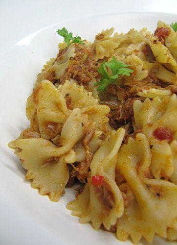 Thunfisch-Pasta nach Jamie Oliver