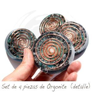 Set de orgonite para un mejor descanso y armonía ambiental - ORGON: ORGONITE personalizado - ORGONITA personalizada - Orgonites - Orgonitas
