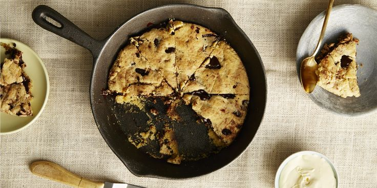 I Quit Sugar - Stop everything: The BEST ever Giant Choc-Chip Skillet Cookie has arrived