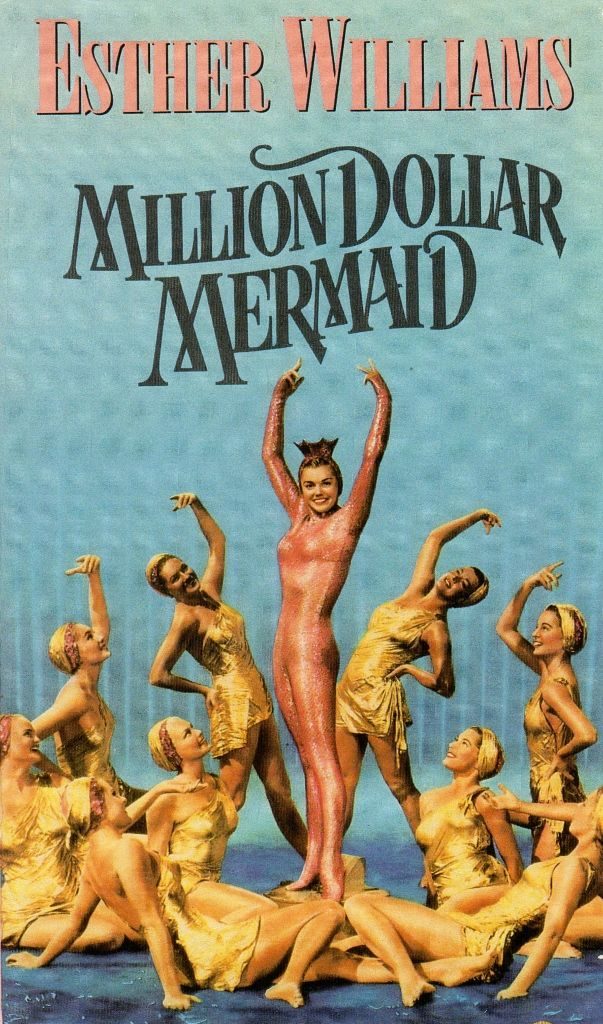 Million Dollar Mermaid, 1952, with Victor Mature, Walter Pidgeon and David Brain