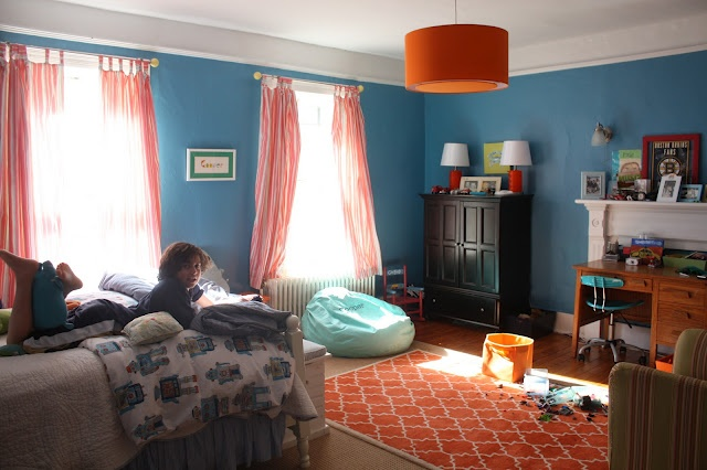 orange and light blue bedroom 136 best henry s room ideas images on play 19352