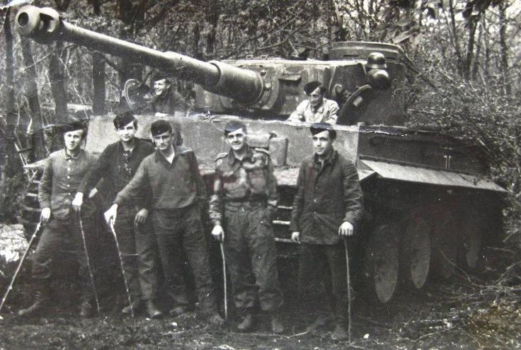 Otto Carius and his crew                                                                                                                                                                                 More
