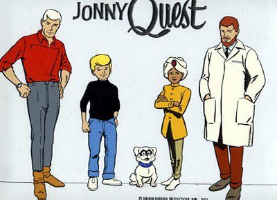 Jonny Quest - one of my favorite Saturday morning cartoons