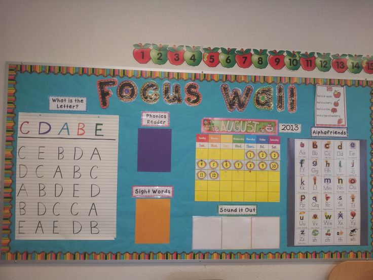Kindergarten Calendar Wall : Best images about calendar math focus wall on