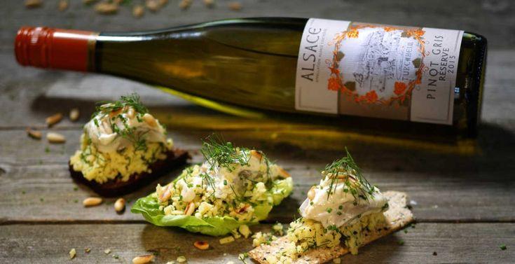Inspiration: Julmiddag med smak av Alsace - juligt silltugg: http://www.senses.se/recept-julmiddag-med-smak-av-alsace-del-4/