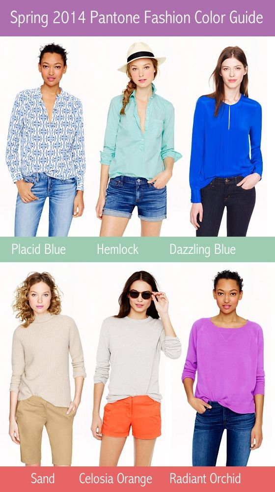 Spring 2014 Fashion Color Report - The Pantone Color Guide