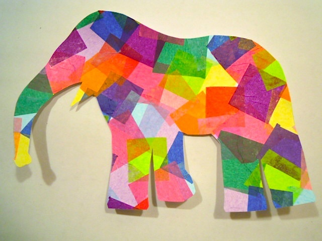 Great Eric Carle craft! ...or ellison the elephant