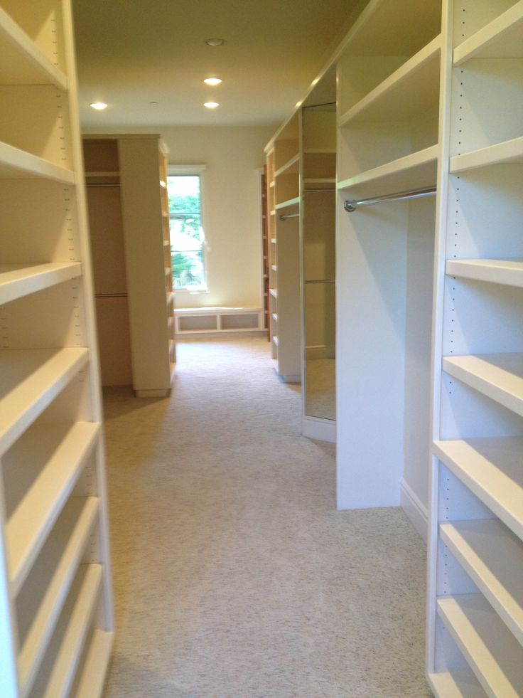 One of the largest closets I've ever seen!