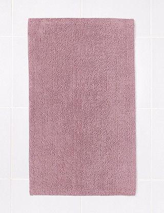 Light Pink Bobble Bath & Pedestal Mats Home