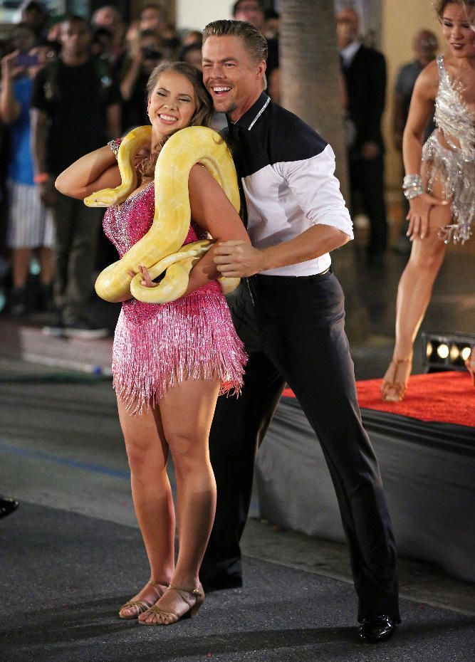 This article, Dancing with the Stars: Bindi (and Her Snake) Totally Charmed Us in the Premiere, originally appeared on TVGuide.com.