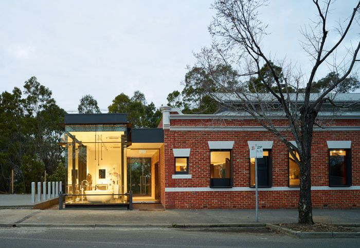 Abey Showroom by ROTHELOWMAN in Melbourne, Australia