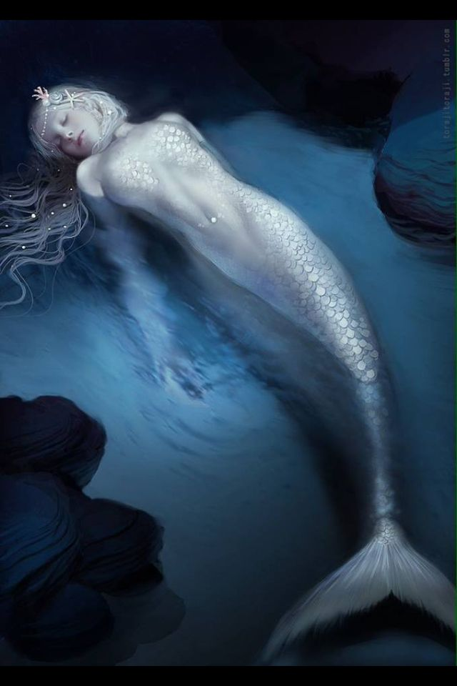 Mermaid ~ artist unknown
