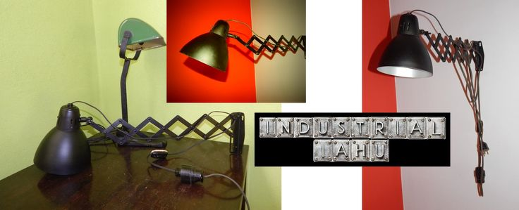 INDUSTRIAL IAHU offers original industrial lamps