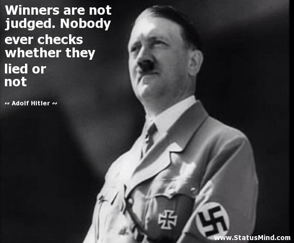 Quote by Hitler | Statements that were printed | Pinterest