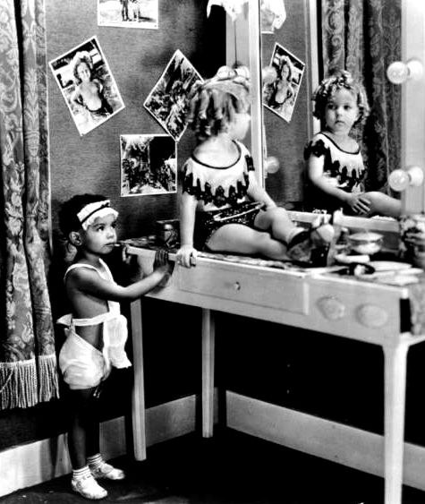 Shirley Temple in Baby Burlesk, Glad Rags to Riches, 1933.