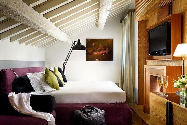 Luxury rooms in Rome: Rooftop suite of Mario de' Fiori 37 | Accommodation Rome