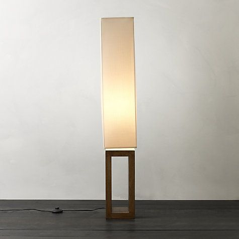 Buy john lewis echo wood floor lamp online at johnlewis com