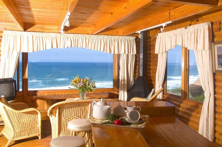 The VIP House lounge at Brenton on Sea Chalets