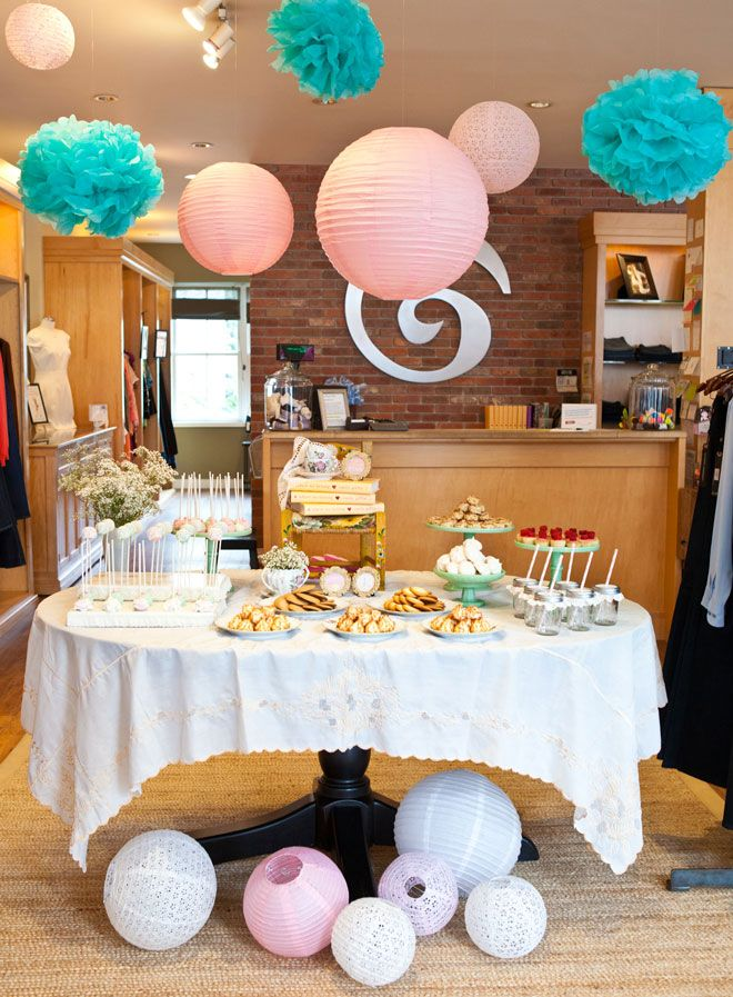 This Book Signing For Emily Giffin S Where We Belong Used An Afternoon Tea Party Theme