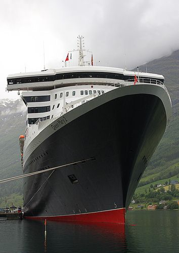 The iconic Queen Mary 2. Pin provided by Elbow Beach Cycles http://www.elbowbeachcycles.com