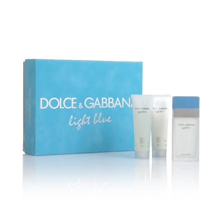 DOLCE & GABBANA  Light Blue  Un omaggio al sole caldo, al mare e alla sensualità del Mediterraneo.  Eau de Toilette (75ml)