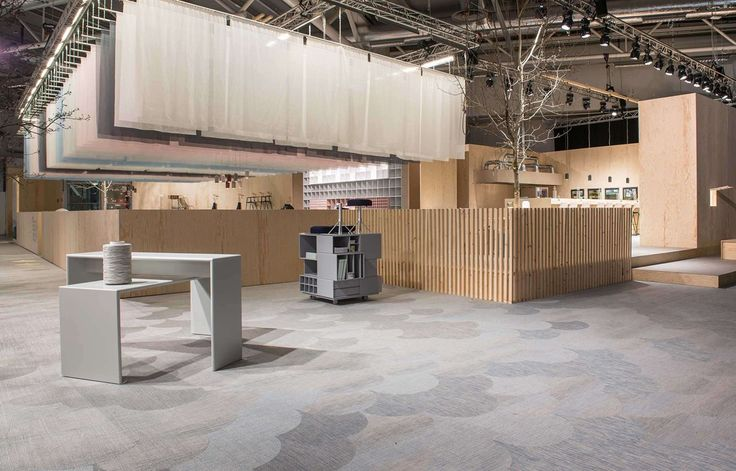 Bolon Studio floor tiles in The Design Bar at Stockholm Furniture Show