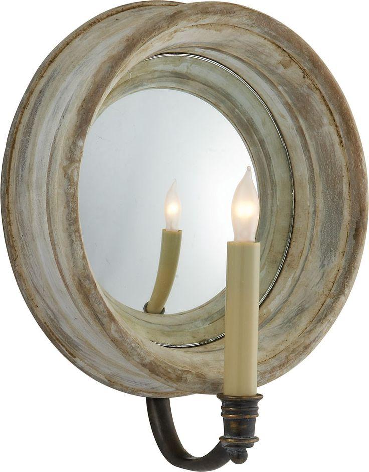 MEDIUM CHELSEA REFLECTION SCONCE item # CHD1186 | designer Sandy Chapman OVERVIEW Height 12 1  sc 1 st  Pinterest & 86 best 10512 Lighting images on Pinterest | House lighting ... azcodes.com
