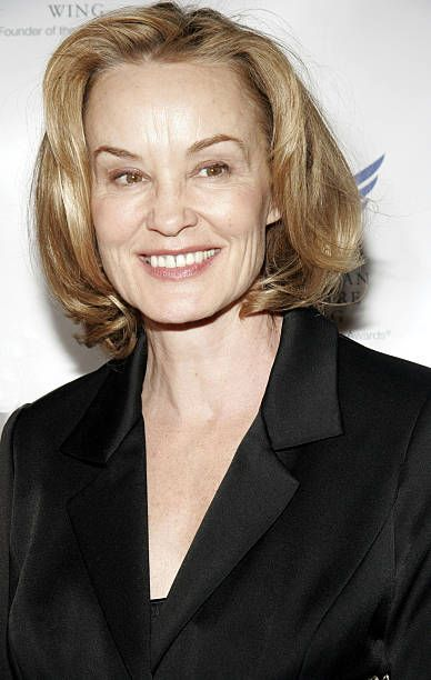 Actress Jessica Lange arrives at the American Theater Wing Annual Dinner honoring CBS Television and it's chairman Leslie Moonves at Cipriani's 42nd...
