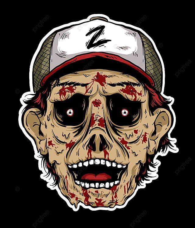 Gambar Menakutkan Seram Kepala Zombie Vektor Abstrak Latar Belakang Kartun Png Dan Vektor Untuk Muat Turun Percuma In 2021 Zombie Vector Zombie Anime Black Hair