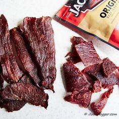 How to make traditional beef jerky - homemade jerky compare to Jack Links