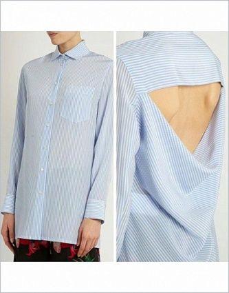 Выкройка №431, рубашка, магазин выкроек grasser.ru #sewing_pattern