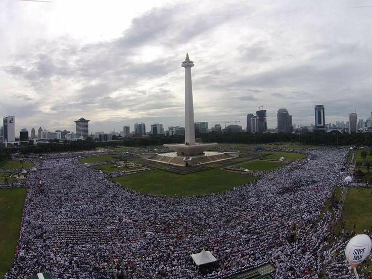 More than 7 millions moslem #aksibelaislam #212