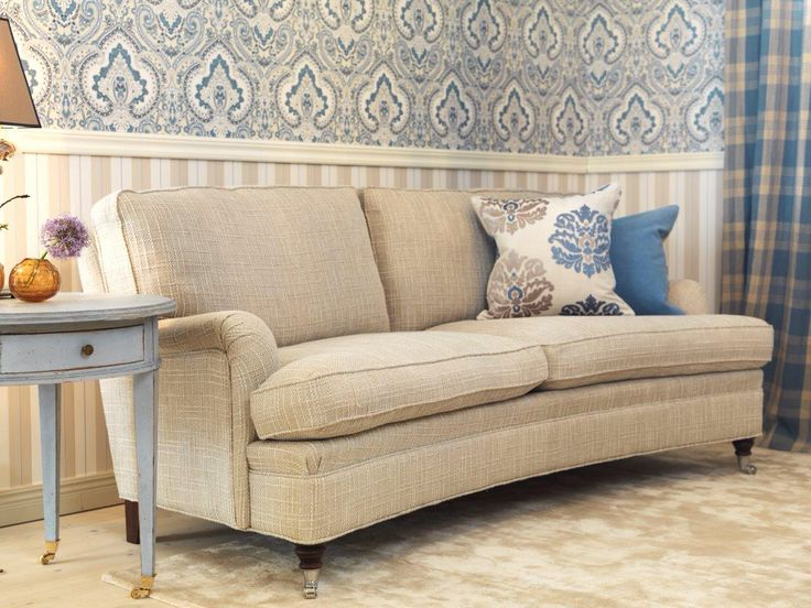 Curved Howard sofa KA Roos