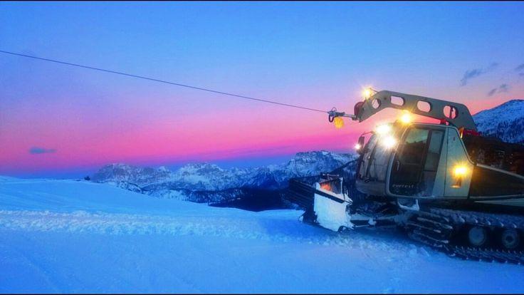 #romantico e #dolce #tramonto in #valdifassa! Avvicinandoci a #sanvalentino <3
