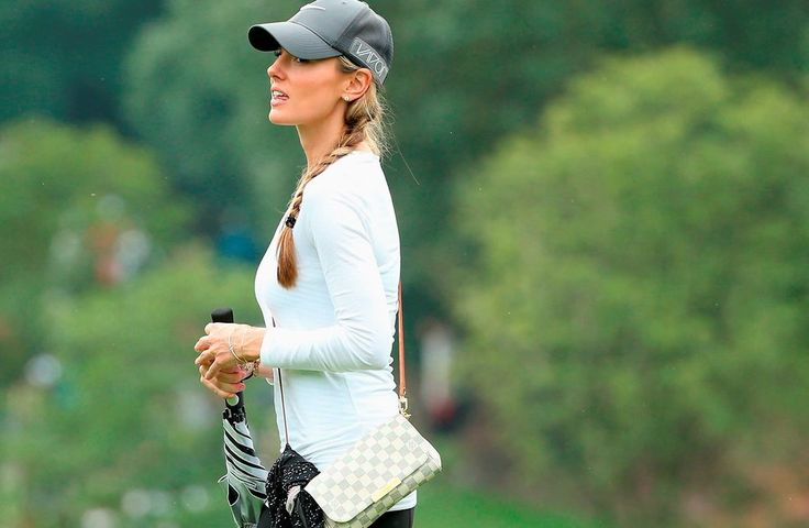 Erica Stoll, fiancé of Rory McIlroy.