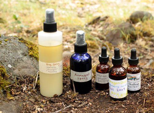 Herbal Camping DIY formulas