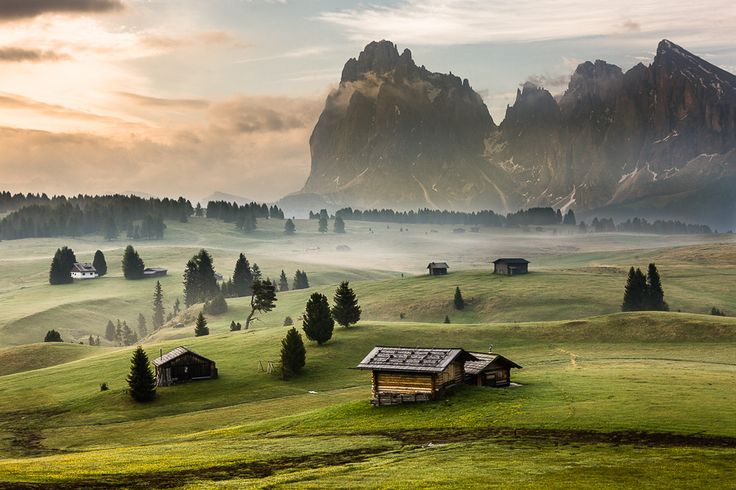 Dolomites, NE Italy - Morning Mood by Hans Kruse, via 500px