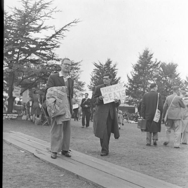 So cool! These are our brothers bk from ww2. Jehovah Witness Convention -  1941