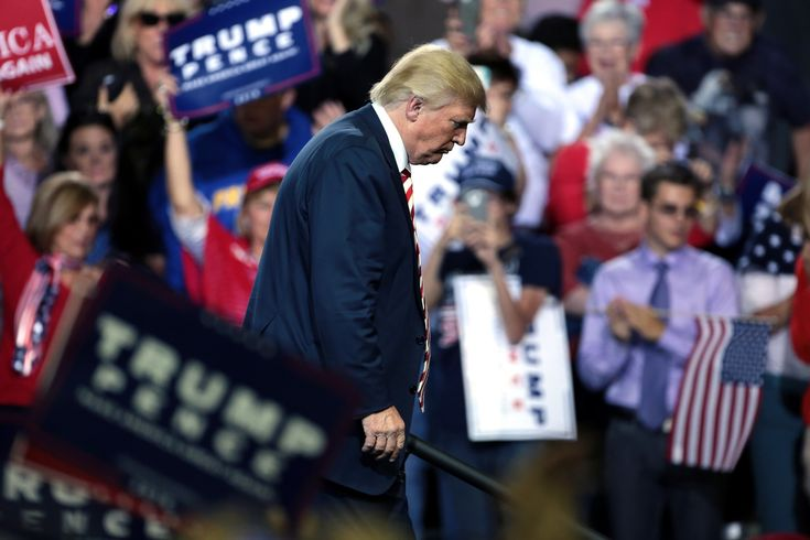 Washington Monthly    Trump's Reality Distortion Field is Shattering