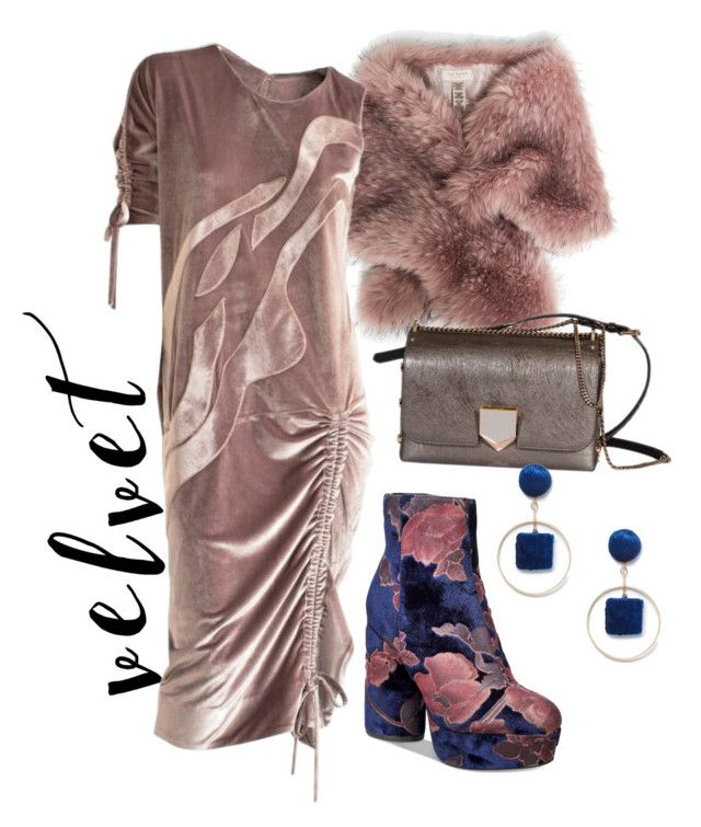 """velvet"" by constantinerenakossy on Polyvore featuring Ted Baker, Call it SPRING, Jimmy Choo and Sole Society"