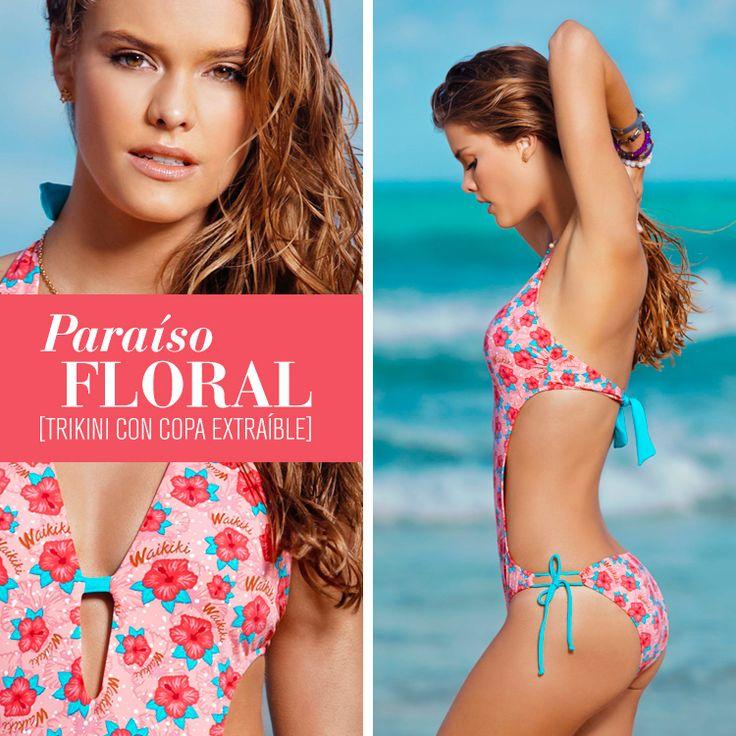 ¡Resalta el poder de tus curvas bajo el sol con trajes de baño #Leonisa!