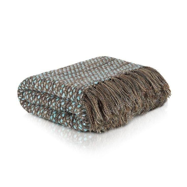Tassel Knit Throw | Woolworths.co.za
